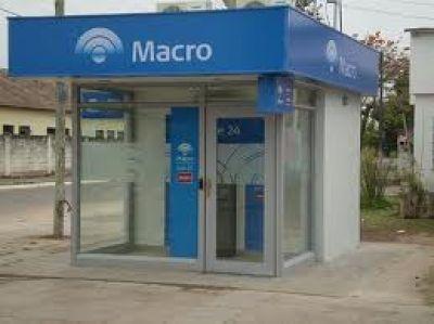Inauguran el viernes un cajero del Banco Macro en el Consejo Deliberante