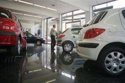 Las ventas de 0 km cayeron un 35% durante marzo