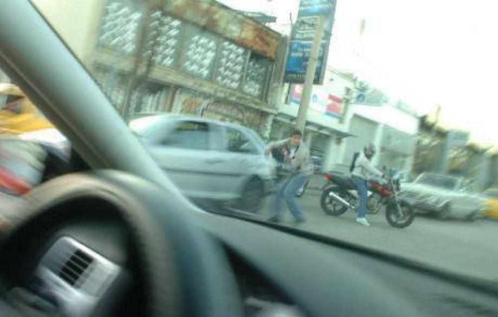El 37 por ciento de los delitos es cometido por motochoros