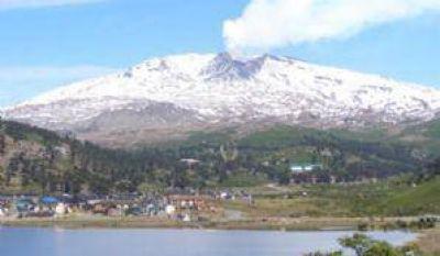 Desciende la actividad del volcán Copahue
