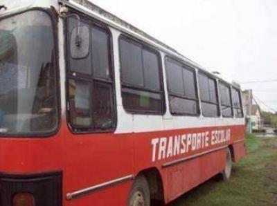 Transporte escolar: se cubrieron 12 de los 23 circuitos previstos