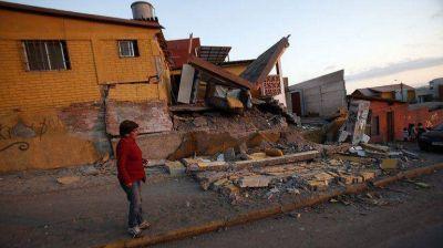 SIsmo en Chile: registran 1.147 viviendas con daños irreparables