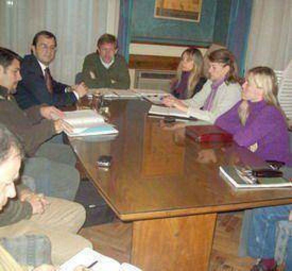 Reunión de gabinete: informe de los frentes de obras