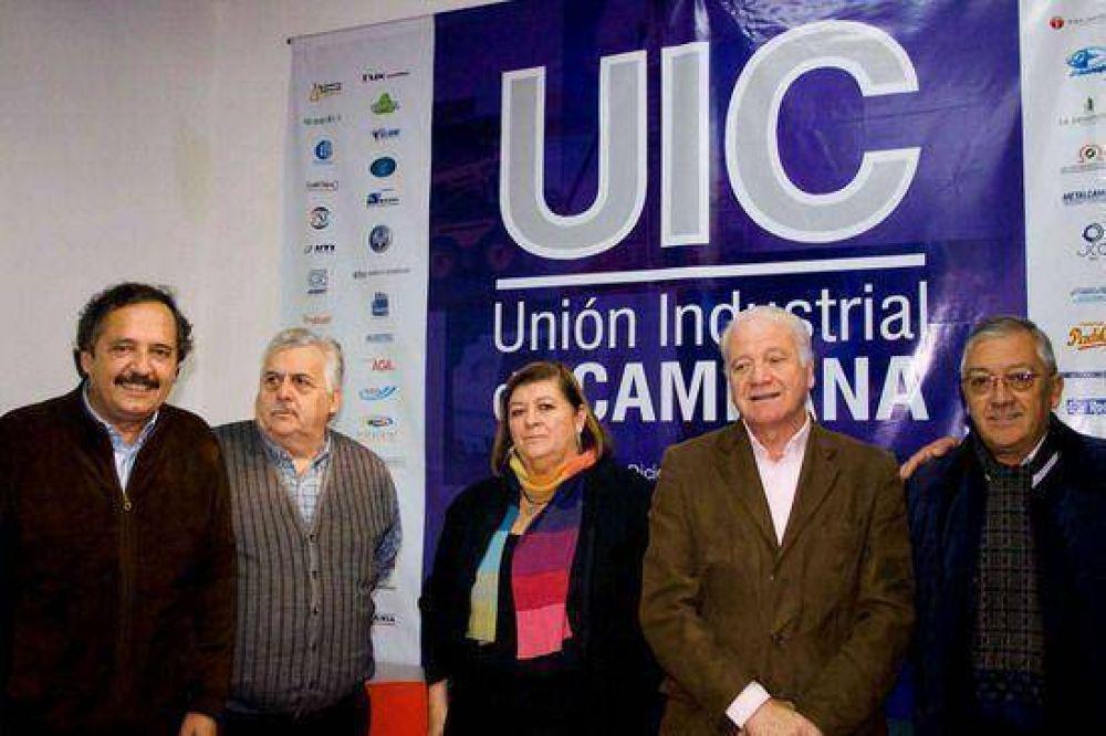 Ricardo Alfonsín visitó Campana acompañando a los candidatos locales de la U.C.R.