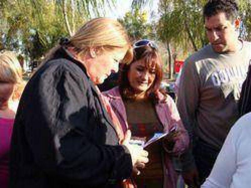 Coalición Cívica Campana: Candidatos del Acuerdo Cívico/Coalicion Cívica compartieron una charla con Margarita Stolbizer y Mario Barbieri