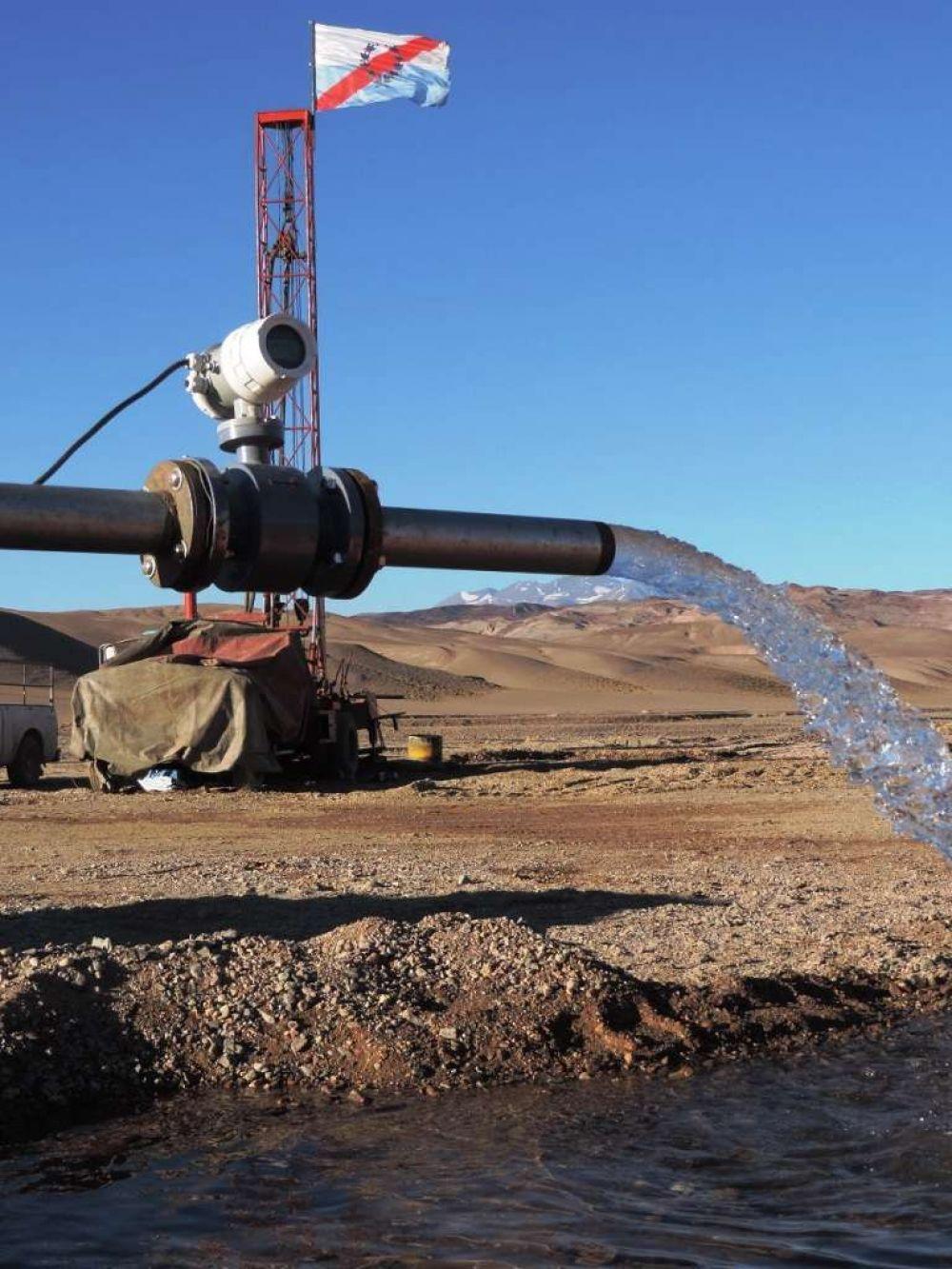 Expectativa por los trabajos de exploración en la Cuenca Hidrica de General Lamadrid