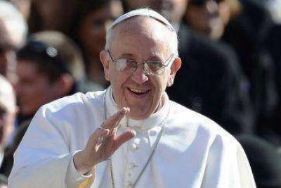 """Massa y la complicada """"foto"""" con el Papa"""