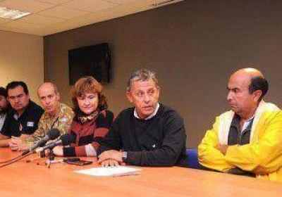 """Pechi Quiroga: """"El temporal destrozó toda la ciudad"""""""
