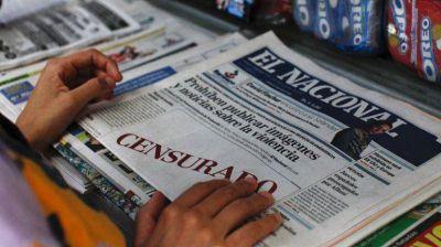"""SIP denuncia """"el momento más dramático"""" de prensa venezolana"""