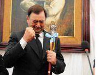 Miguel Isa advirtió que será el candidato oficial para la gobernación
