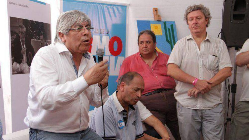 Hugo Moyano cuestionó a los candidatos presidenciales por no hablar de la desocupación
