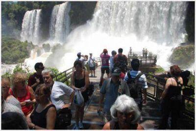 Cataratas sigue siendo el destino más visitado por turistas extranjeros después de Capital Federal