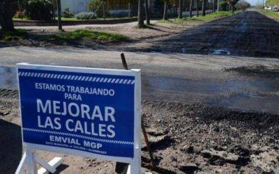 """""""Nos desaparecieron 15 cuadras de asfalto"""""""