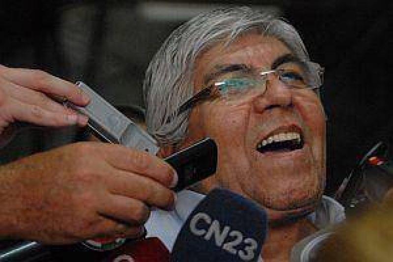 """Moyano sobre la protesta: """"No vamos a hacer una guerra civil"""""""
