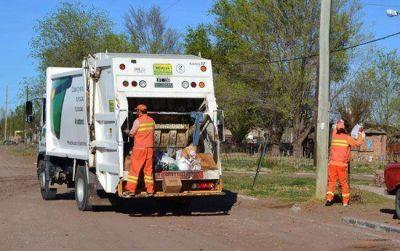 El jueves no habrá recolección de residuos y con el transporte también habrá problemas
