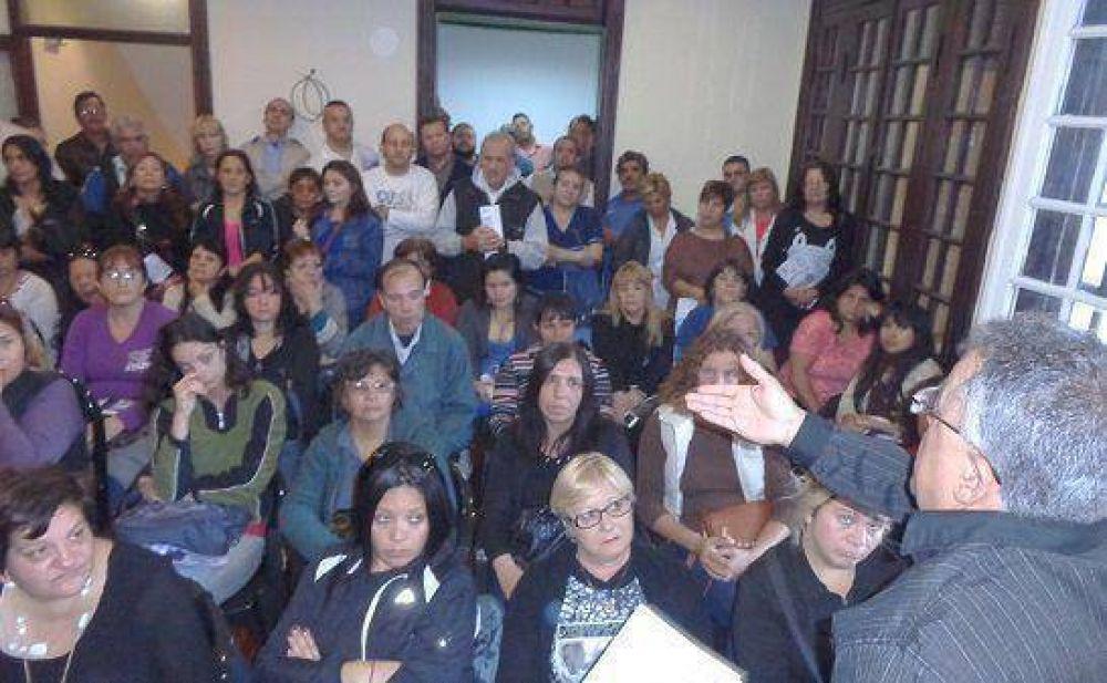 ATE Zona Norte realizó la asamblea de memoria y rendición de gastos