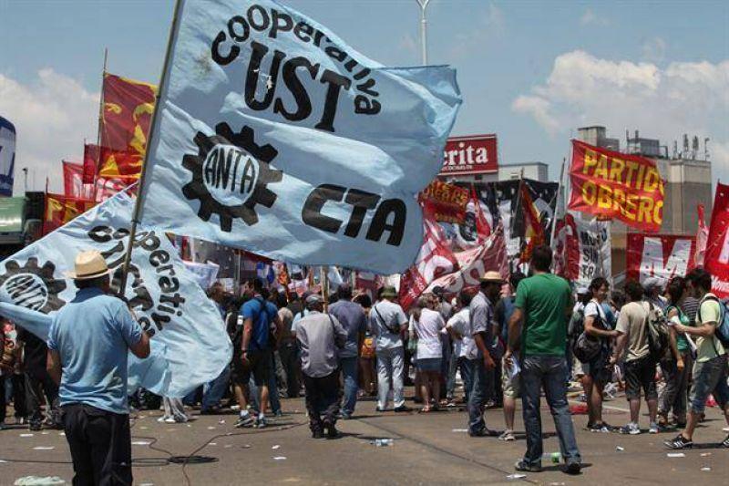 Los paros generales y las grandes protestas en la era K
