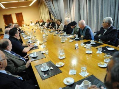 Fein se reunió con líderes religiosos preocupados por la inseguridad