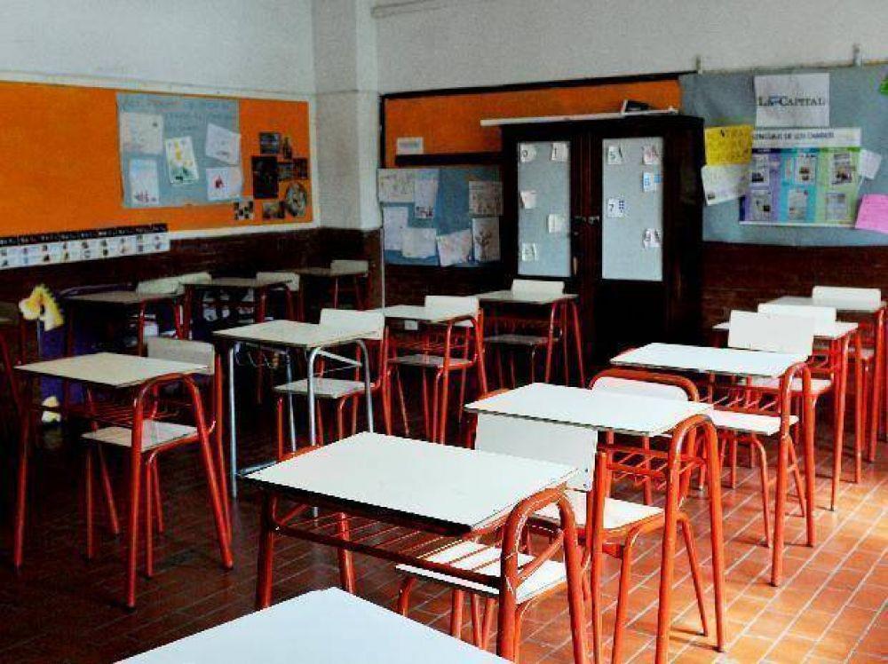 Los docentes de Amsafé Rosario adhieren al paro y no habrá clases en las escuelas