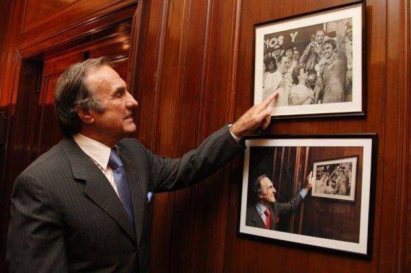 """Reutemann admiti� """"una elecci�n cerrada"""" en Santa Fe y condicion� su sue�o presidencial a los resultados del 28"""