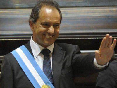 Agrupaciones peronistas lanzan en Mar del Plata la campa�a presidencial de Scioli