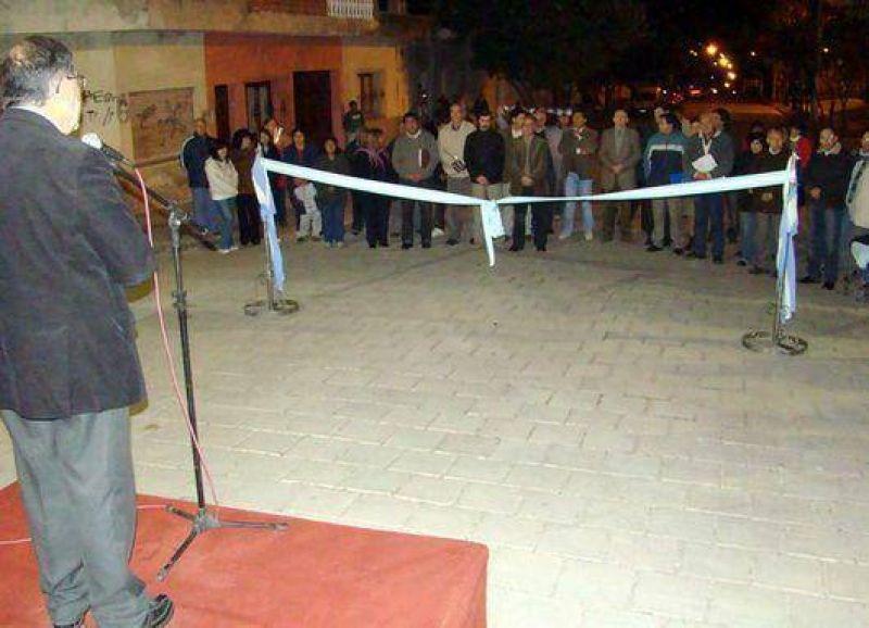 Cuyaya: El Intendente Jorge y vecinos inauguraron el pavimento de calles Baldi y La Rioja
