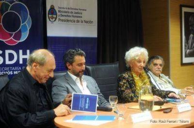 Fresneda presentó la Escuela de Derechos Humanos junto a Carlotto, Zafaronni y Horacio González