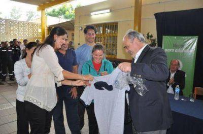 """""""La Dpec no va a ser privatizada"""", asegur� el gobernador Colombi"""