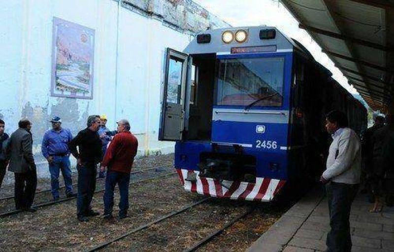 La Presidenta llega hoy a Salta por el tren urbano
