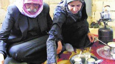 Los refugiados sirios no abandonan el mate