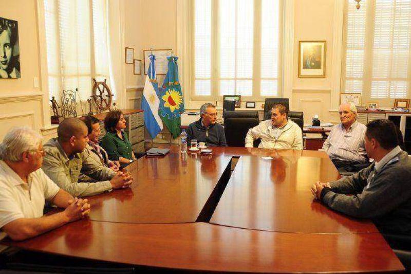 Zamora recibió a las Nuevas autoridades en el Sindicato de los Trabajadores Municipales de Tigre