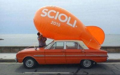 Marplatenses buscan que Scioli sea presidente en 2015