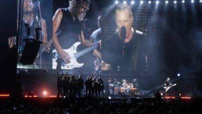 Metallica: hubo un 75% de trabajo en negro en el show