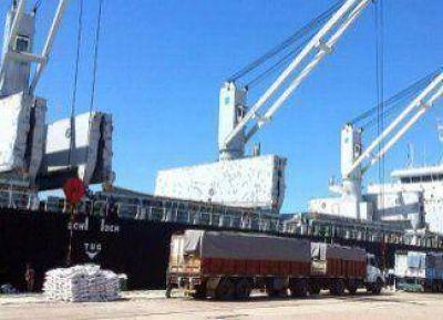 Llega un nuevo buque para la carga de arroz