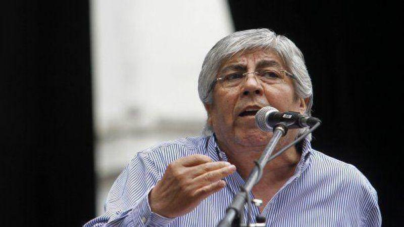 """Moyano calific� de """"inaceptable"""" la violencia en Camioneros"""