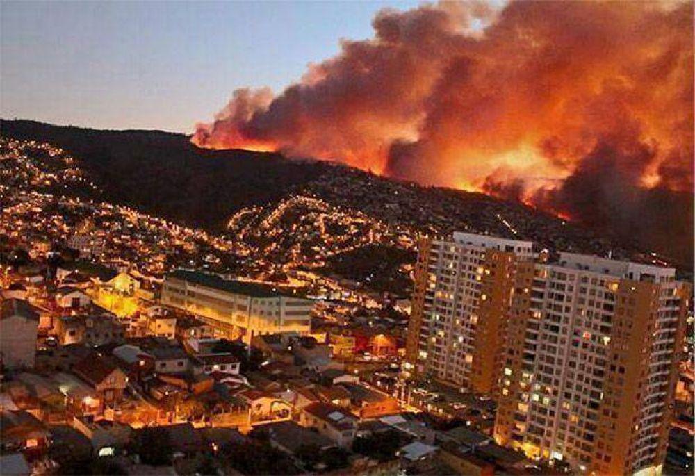 San Luis Solidario ofreció ayuda a Chile por el incendio en Valparaíso