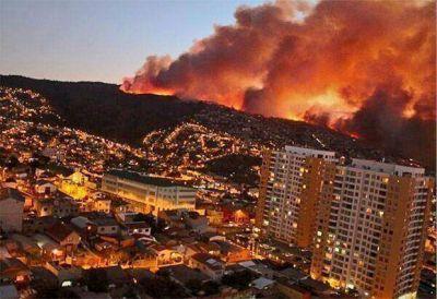 San Luis Solidario ofreci� ayuda a Chile por el incendio en Valpara�so