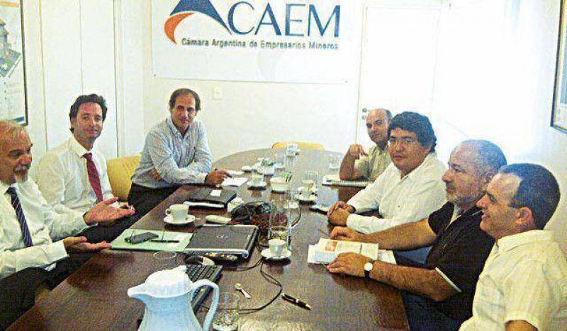 Los jerárquicos mineros se reunieron con la CAEM