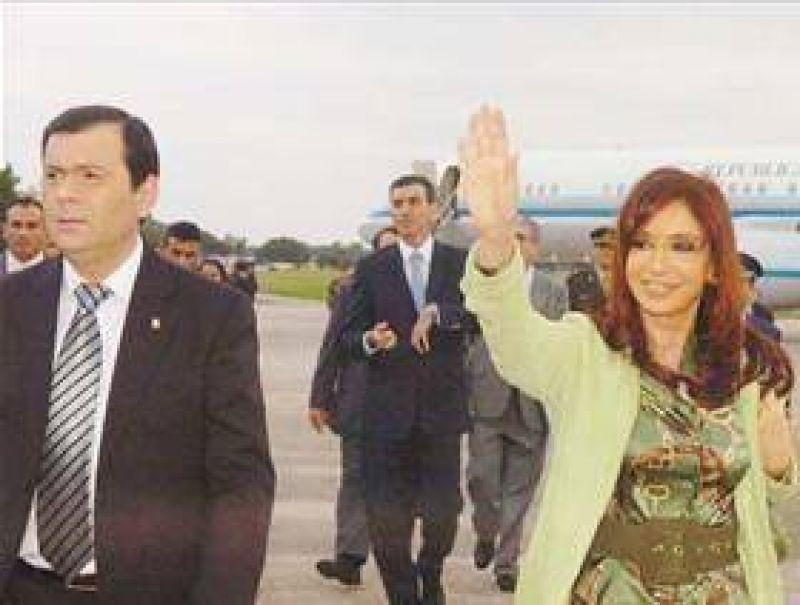 Cristina también viene a Santiago