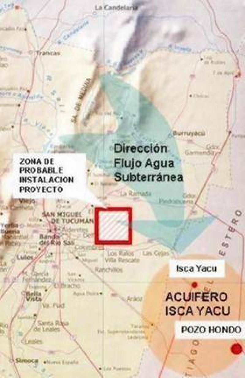 Basural tucumano estaría sobre acuífero que abastece a ciudades santiagueñas