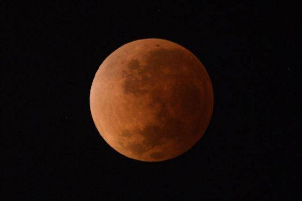 El eclipse en San Luis fue impactante