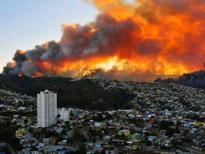 Incendio en Valparaíso: aclaran que el gobierno provincial no está organizando colectas
