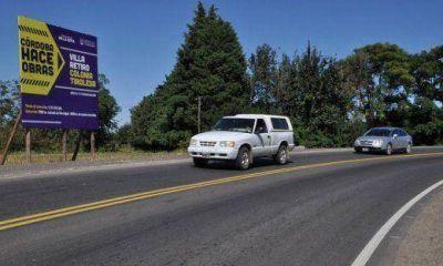 Tasa vial: inauguraron pavimentación de Ruta A174