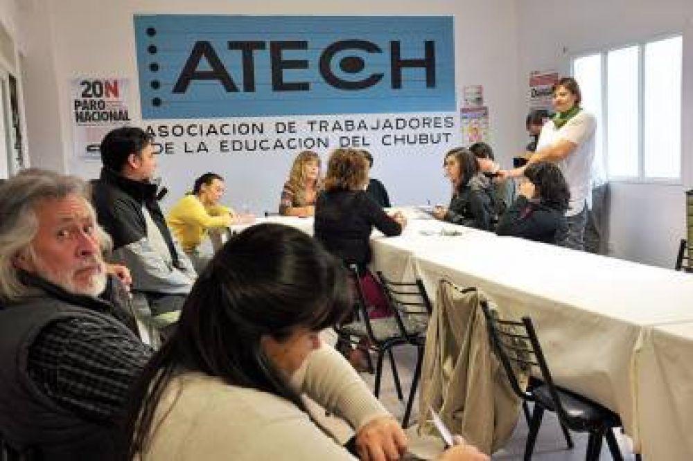 ATECh Sur realizará asambleas unificadas en repudio a los descuentos