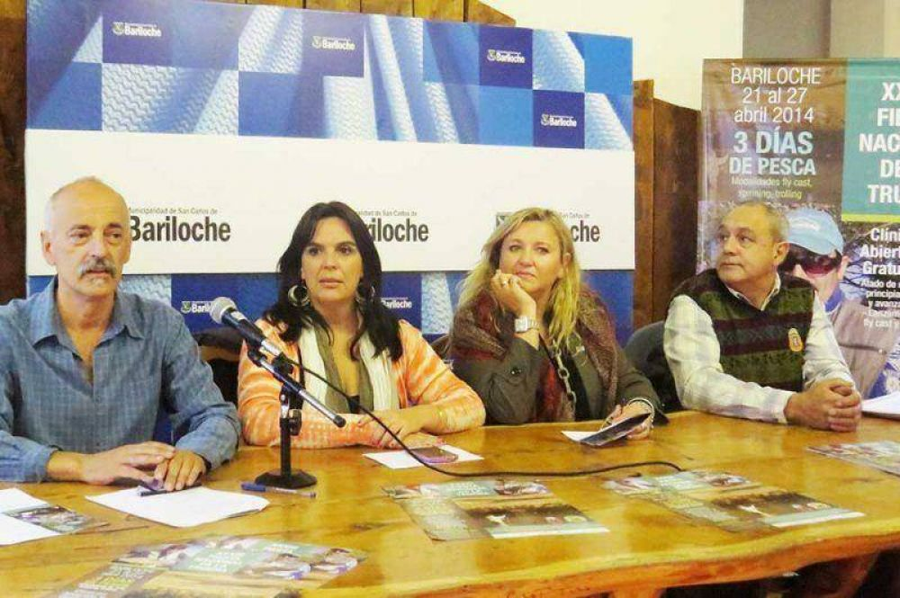 Se realizó la presentación de la XXXIII Fiesta Nacional de la Trucha