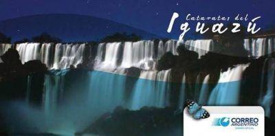 Correo Argentino lanzó estampillas con las Cataratas del Iguazú