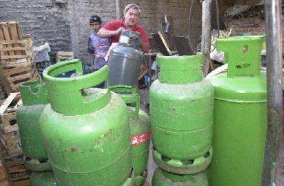 Piden aumento del cupo para la venta de gas en garrafas