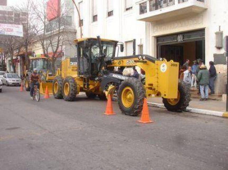 Equipamiento vial Nuevas máquinas para el Municipio