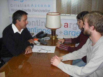 Prosiguen las reuniones con concejales por el Boleto Universitario