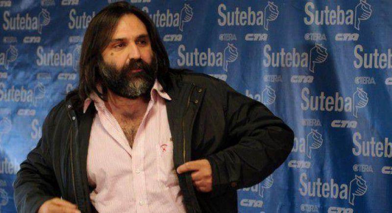 La oposici�n de Suteba enfrenta a Baradel y amenaza con volver a parar las escuelas